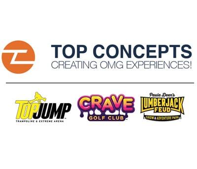 top concepts logos